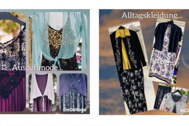 Mode für Frauen und Männer