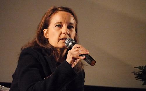 Caroline Link beantwortet Fragen aus dem Publikum (Foto A. Hausmanns)