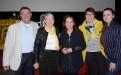 v.l.n.r.: Dr. Karl-Heinz Deuser, Dr. Adelheid Deuser, Caroline Link, Julia Buettner, Amelie Buettner (Foto A. Hausmanns)