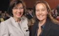 Zonta-Präsidentin Vilborg Asmus-Reuter und Caroline Link (Foto K-H. Deuser)