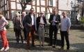 Unser Sponsor Hanns Fertsch mit Gästen (Foto A. Hausmanns)
