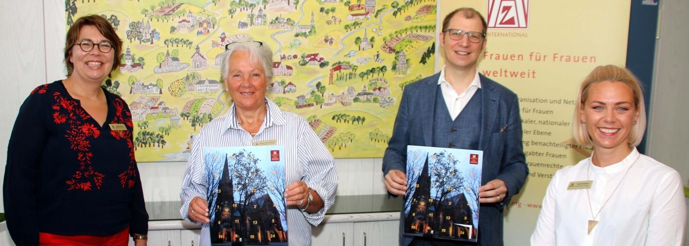 Pressefoto mit unserem Schirmherrn, Landrat Weckler. Foto © Schuchardt