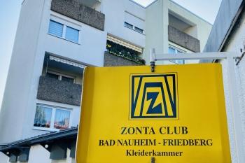 ZONTA-Kleiderkammer in der Blücherstraße 23 in Bad Nauheim