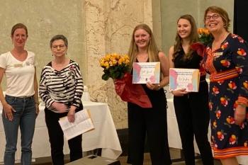 v.l.n.r.: Frederike Osbeck, Mechtild Rumpf, Jill Hummel, Lena Jüngling, Julia Buettner